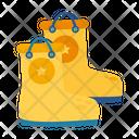 Rain Boots Footware Icon