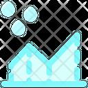 Rain Chart Icon