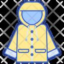 Rain Coat Rain Protection Coat Icon