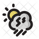 Cloud Day Storm Icon