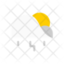 Rain lighting Icon