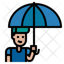 Rain Protection Icon