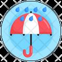 Rain Protection Sunshade Umbrella Icon