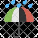 Rain Protection Umbrella Icon