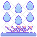 Irain Repellent Rain Repellent Water Droplets Icon