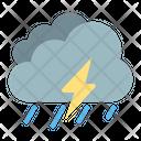 Rain Storm Thunder Icon