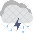 Rain Thunderstorm Storm Icon