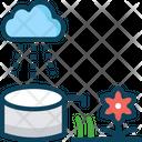 Rain Water Harvesting Icon