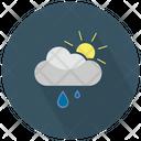 Rain With Partially Sunny Icon