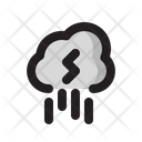 Cloud Storm Rainy Icon