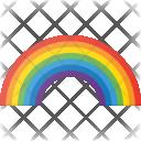 Rainbow Colors Weather Icon