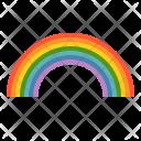 Color Rainbow Weather Icon