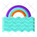 Rainbow Colorful Beautiful Icon