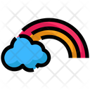 Spring Cloud Rainbow Icon