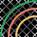 Rainbow Colorful Fantasy Icon