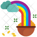 Rainbow Gold Pot Icon