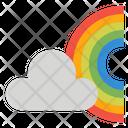 Cloud Rainbow Weather Icon