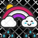 M Rainbow Icon
