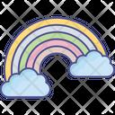 Dream Fantasy Rainbow Icon