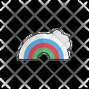 Rainbow Cloud Weather Icon