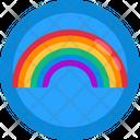 Rainbow Gay Homosexual Icon