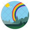 Rainbow Vibgyor Birds Icon