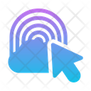 Rainbow Weather Cloud Icon