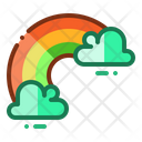 Rainbow Cloud Spectrum Icon