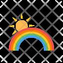 Rainbow Color Icon