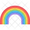 Rainbow Nature Phenomenon Icon