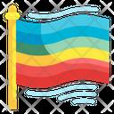 Rainbow Flag Icon