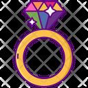 Rainbow Ring Icon