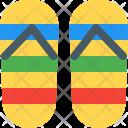Rainbow sandal Icon