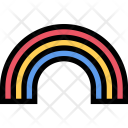 Rainbow Weather Insurance Icon