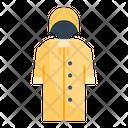 Raincoat Rain Clothing Icon