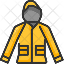 Raincoat Clothes Garment Icon