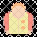 Raincoat Weather Coat Icon