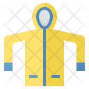 Trench Raincoat Rainy Icon