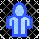 Rain Raincoat Rainy Icon