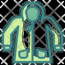Raincoat Rain Jacket Icon