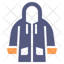 Raincoat Jacket Rain Icon