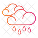 Weather Rain Clouds Icon