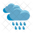 Rainfall Rain Clouds Icon