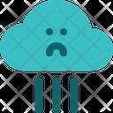 Rainfall Raining Rain Icon