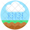 Rainy Weather Rainy Cloud Rainfall Icon