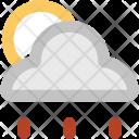 Raining Weather Sun Icon