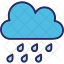 Aining Clouds Rain Icon
