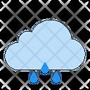 Cloud Forecast Rain Icon