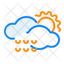 Rain Drop Cloud Icon