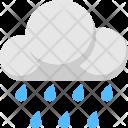 Cloud Raindrops Rain Icon